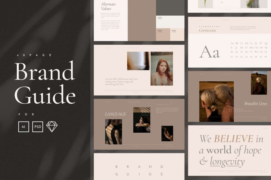 elegant-style-guide-template-title-page-