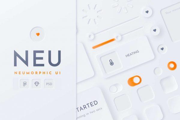 neumorphic-ui-kit-cover