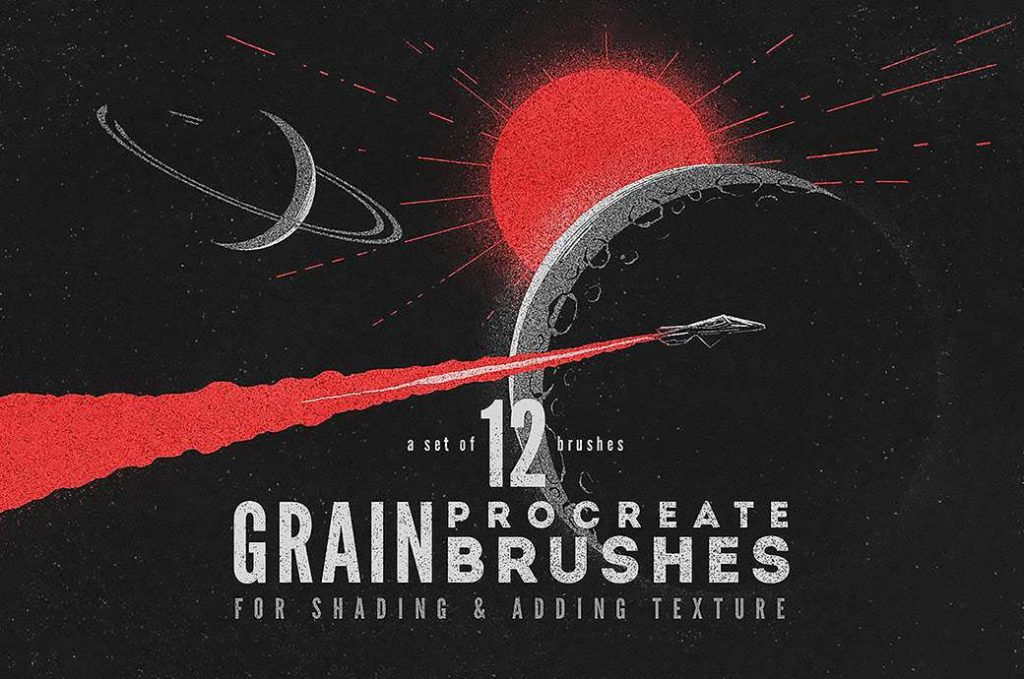 procreate grain texture free