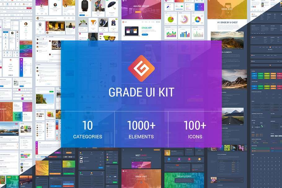 best CRM UI kit for Sketch and Figma