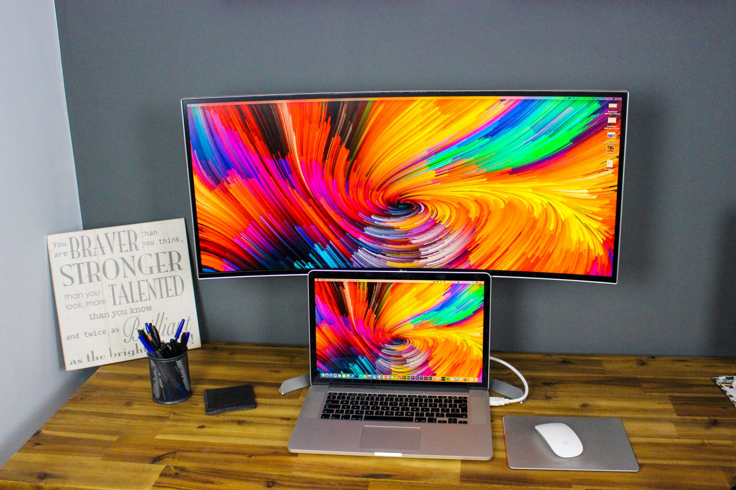 best curved monitor for graphic design
