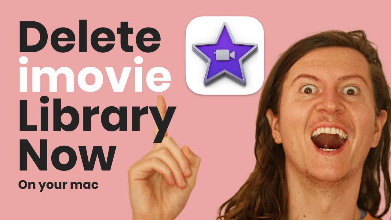 how to delete iMovie files